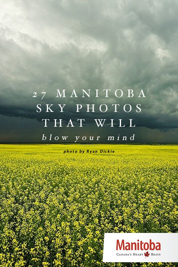Manitoba's skies are clean and clear. There aren't many places left in the world that can brag about that. So take a deep breath and get ready to be amazed… www.manitobahot.com #exploremb
