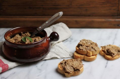 Tuscan Chicken Liver Crostini (Crostini di Fegatini) recipe on Food52