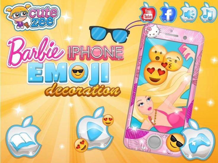 Lubisz używać emotikonów, prawda? Barbie zakochała się w buźkach i chce ubrać się w ciuszki z motywami emotek! http://www.ubieranki.eu/gry/3671/barbie-_-emoji.html
