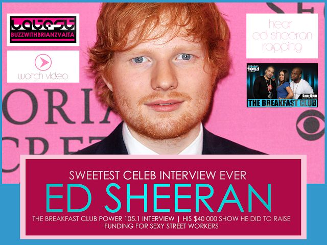 LATESTBUZZ WITH BRIAN ZVAITA: LBWBZ | ED SHEERAN SAID TALYOR SWIFT IS TO TALL FO...