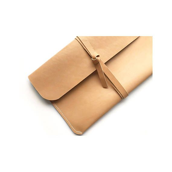 Soft Natural Leather Laptop Case MacBook Air Case iPad Case