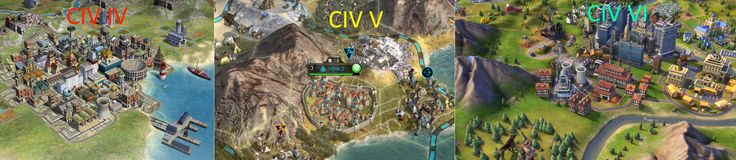 Why does Civ V city art looks so crappy compared to Civ IV? #CivilizationBeyondEarth #gaming #Civilization #games #world #steam #SidMeier #RTS