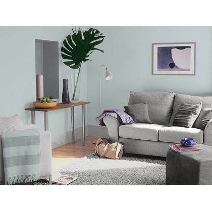 Mineral Mist Dulux paint - available now at Homebase in store and online at homebase.co.uk.