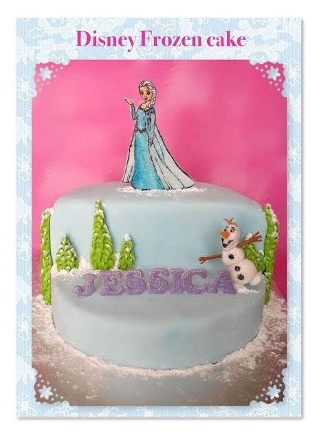 Disney Frozen cake by Suga Suga Cupcakes