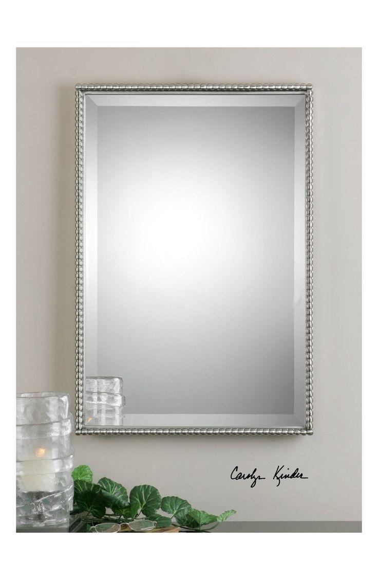 Uttermost 'Sherise' Brushed Nickel Mirror | Nordstrom