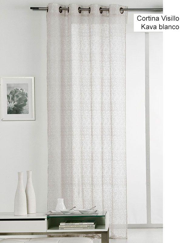 17 mejores im genes sobre cortinas online en pinterest for Cortina visillo blanco