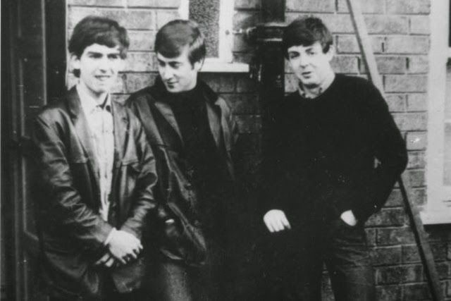 Rare Photos of The Quarrymen from the Late 1950s