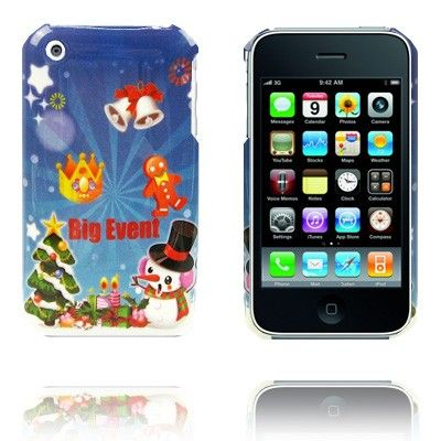Merry Christmas (Big Event) iPhone 3G/3GS Suojakuori - http://lux-case.fi/merry-christmas-big-event-iphone-3g-3gs-suojakuori.html