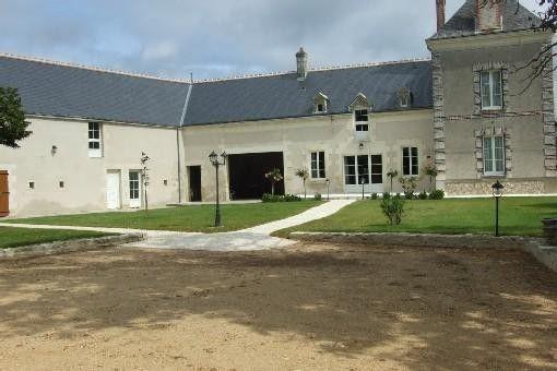 Location vacances gîte Panzoult: Gîte La Croix Saint Louis côté cour au sud