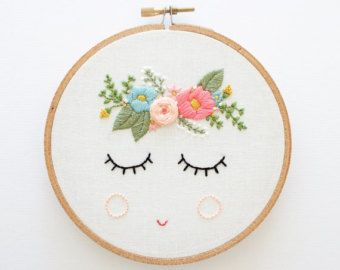 POSY PDF Embroidery Pattern Digital Download Floral