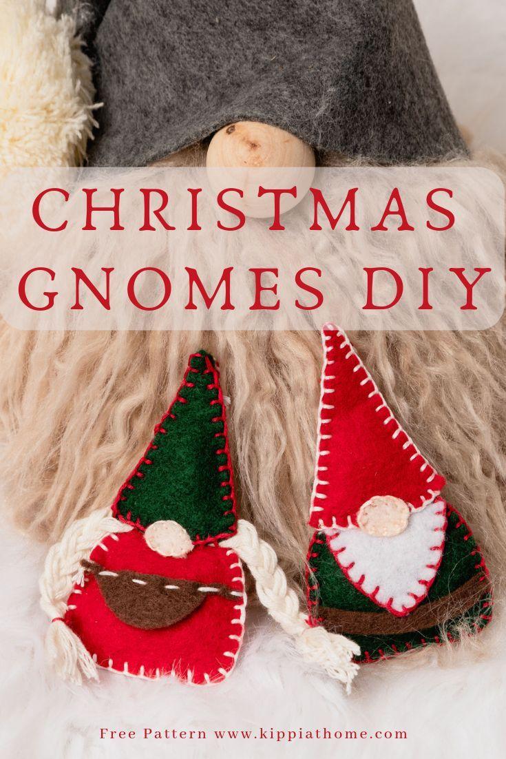 Easy Felt Christmas Ornaments Felt Decorations To Make Gnomes Felt Christmas Ornaments Felt Christmas Felt Ornaments Patterns