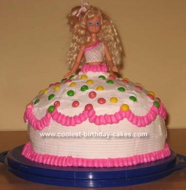 princess cakes | Barbie Princess Cake made with a Bundt cake