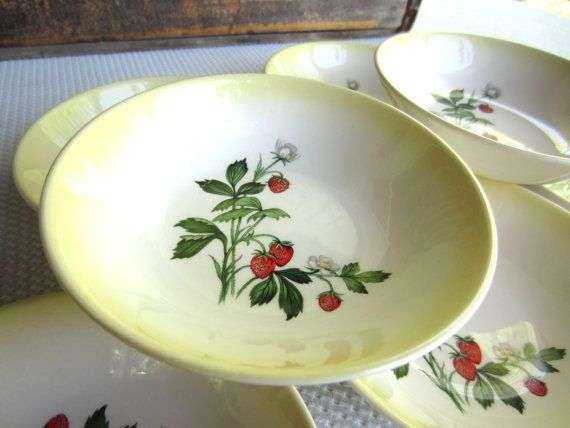 Vintage Strawberry Taylor Smith Taylor Fruit by corrnucopia, $42.00