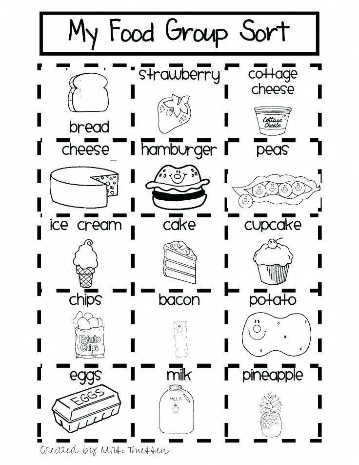 Free Healthy Food Worksheets Nutrition Bienestarynutricion Healthy Habits For Kids Healthy And Unhealthy Food Kids Nutrition Free health worksheets for kindergarten