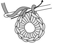I needed a refresher on how to crochet in round -- @Carrie Pollard you should check this out!! :)