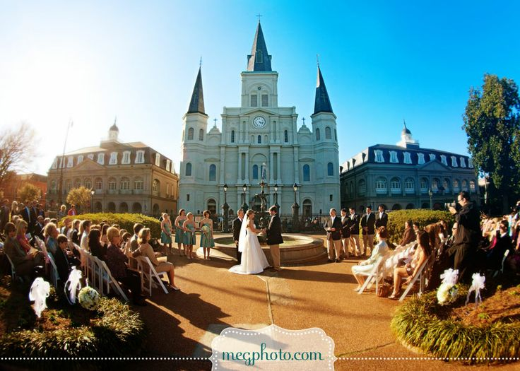 New Orleans Jackson Square Weddings