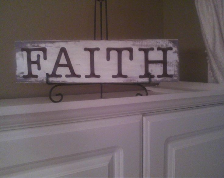 DIY wooden sign. Was feeling a little crafty over the weekend and found a piece of wood in the shed and some letters in my craft table and some paint. took about an hour to make and I love it...looks nice on top of my pantry