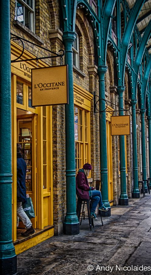 London's Covent Garden, England. One of my favorite places in London.