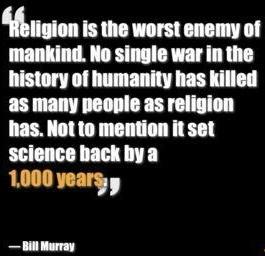 Bill Murray on religion