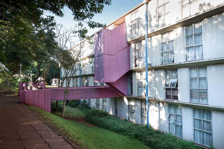 UNIVERSITY RESIDENCES University Of Kwazulu-Natal, Howard College Campus, Mazisi Kunene Rd, Hallen & Dibb, 1966-68