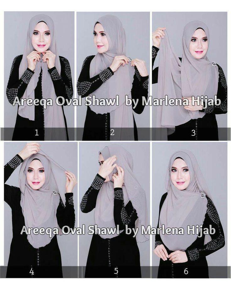 Flashmag - Fashion & Lifestyle — Hijab Fashion 2016/2017: Hijabtutorial Hijab...