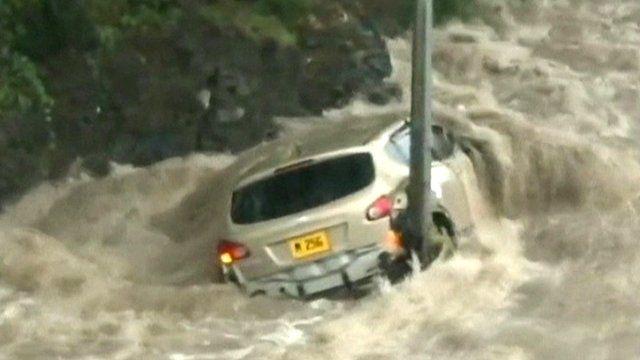 Deadly #floods hit Mauritius capital Port Louis