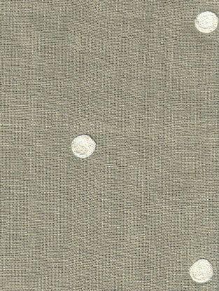 Grey-Cream Cotton Fabric