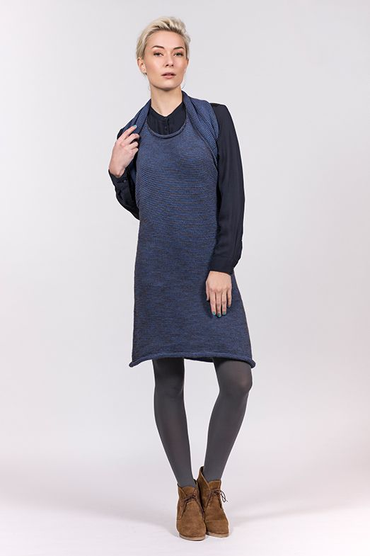 Multifunctional Elementum style MEIO LONG Mix in Baby alpaca, merino wool and organic cotton. www.luxuryistohav...
