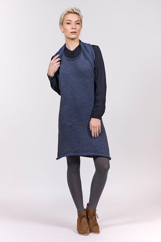 Multifunctional Elementum style MEIO LONG Mix in Baby alpaca, merino wool and organic cotton. www.luxuryistohav...