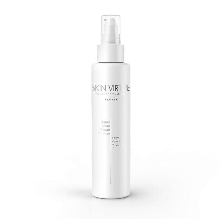Super Clear Repair Solution   Balancing + Correcting Treatment – Skin Virtue