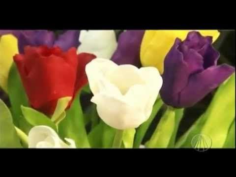 Tulipas   Tudo Artesanal - 04 de Agosto de 2012 - YouTube