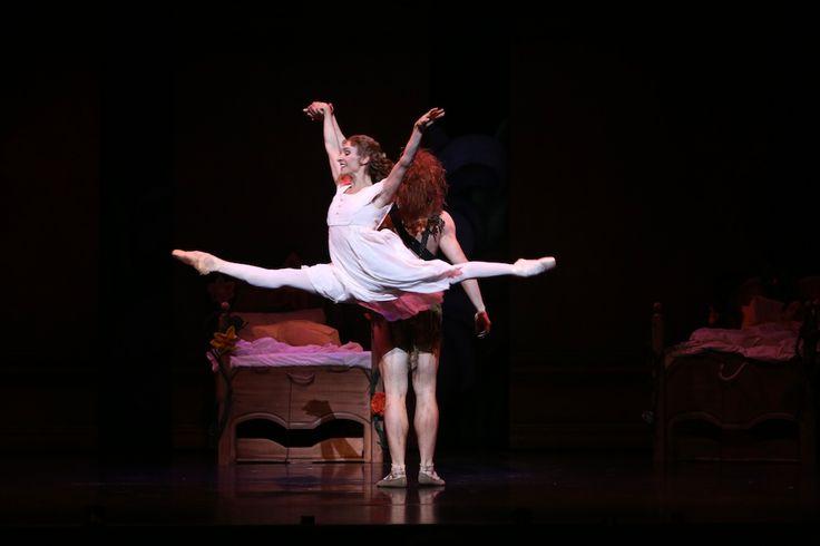 Queensland Ballet performing Peter Pan, choreographed by Trey McIntrye, Photographer David Kelly