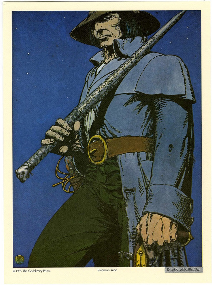 Barry Smith does Solomon Kane. | RPG: Dungeons & Dragons ...
