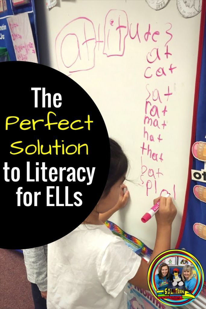 The Perfect Solution to Literacy for English Language Learners- These vocabulary strategies have really helped the writing skills and vocabulary development of all my students, especially my ELL students! Read more!