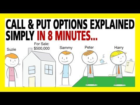 Call Options & Put Options Explained Simply In 8 Minutes (How To Trade Options For Beginners) - YouTube