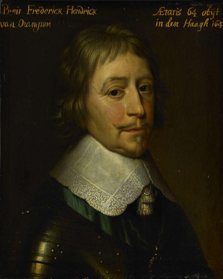 Portret van Frederik Hendrik (1584-1647), prins van Oranje, atelier van Gerard van Honthorst, ca. 1653