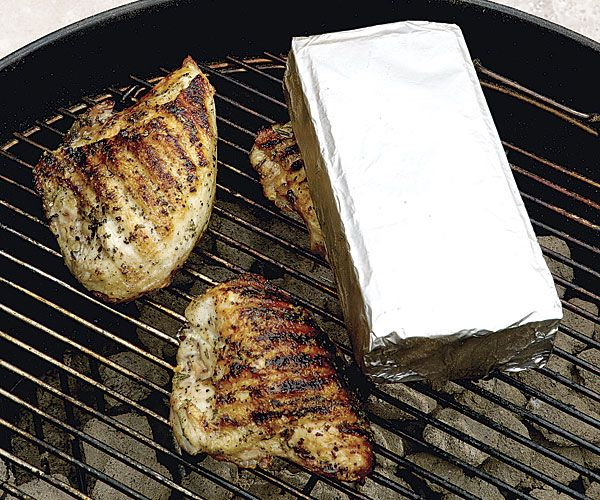 Grilled Chicken Under A Brick Recipe — Dishmaps