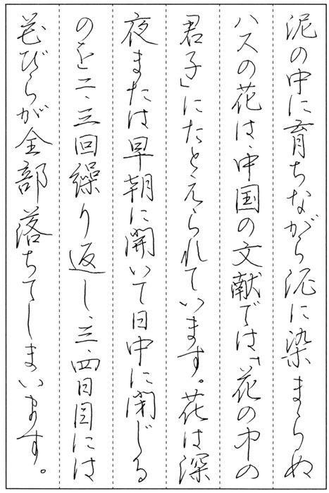 東北書道会 東北書道掲載作品紹介