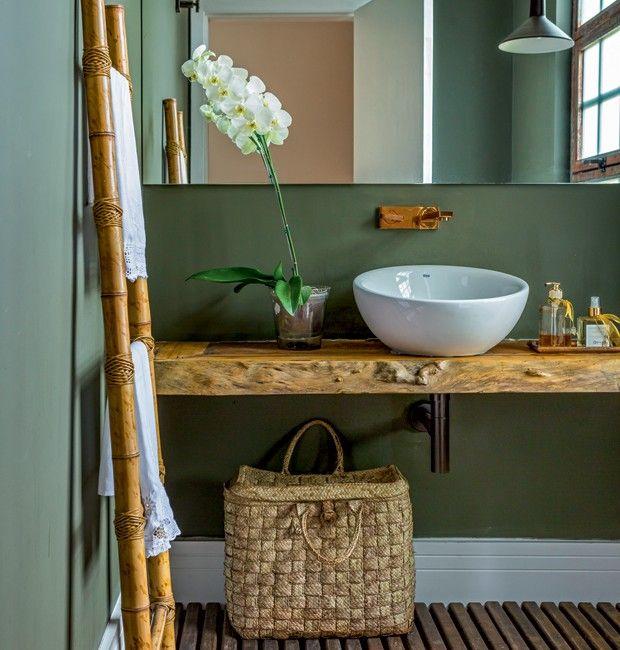 25+ melhores ideias sobre Pias De Banheiro Rústico no Pinterest  Banheiro no -> Cuba Para Banheiro Rustica