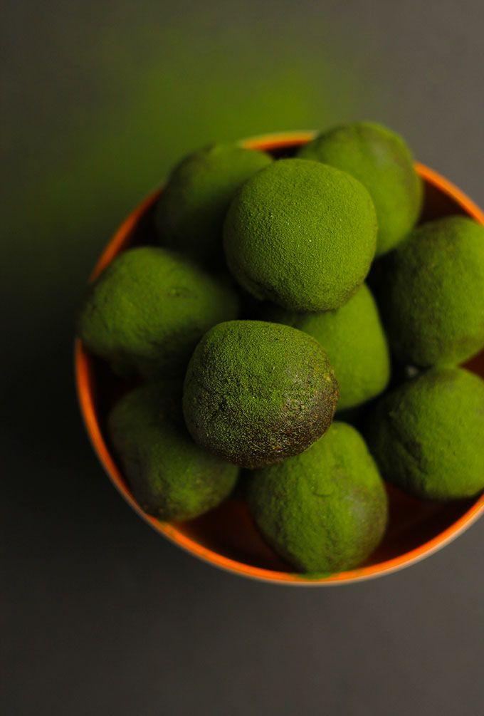 Chocolate Matcha Energy Balls + 20 Healthy Energy Ball Recipes! - The Healthy Maven
