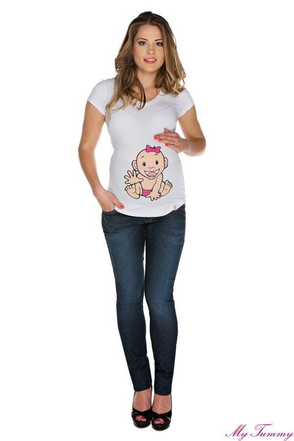 Spodnie ciążowe Jane granatowe
