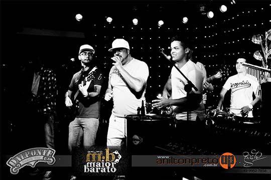 Fotos do Show do Grupo de pagode Maior Barato de Curitiba, que aconteceu no Dalponte Snack Bar de Telêmaco Borba no dia 05 de outubro de 2013.