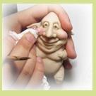Doll head tutorials for polymer clayPolymer Clay Td, Polymer Clay Tutorials, Polymer Clay Dolls, Polymer Clay Gonna, Painting Polymer Clay Tutorial, Polymer Clay Dragon