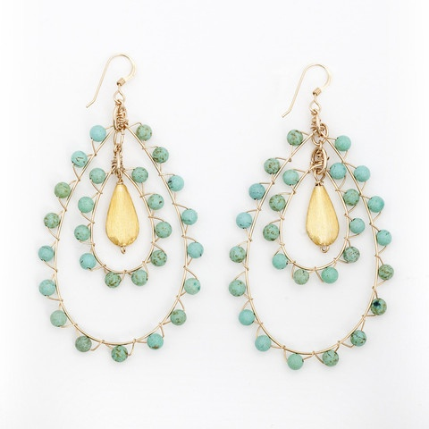 Wimberly turquoise earrings