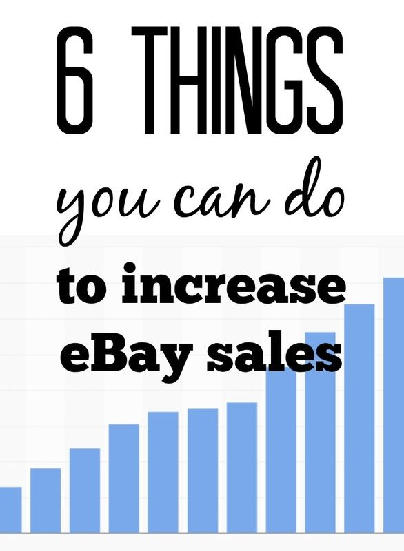 6 Things You Can Do To Increase Your eBay Sales! Slow sales plaguing you? Our eBay sales had taken a huge dip over the past month. See what we did to get them higher than ever! Is it what you sell on eBay? Your customer service? Or simply just your attitude? Well follow along and get that cha-ching daily! http://www.resellingrevealed.com/ebay-sales-blog/6-things-you-can-do-to-increase-ebay-sales
