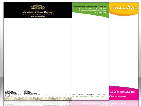 Are you looking for letterhead printing service online? BullPrint is one of the leading firms in letterhead printing service. We offer top quality letterhead printing services throughout the Australia. Review our prices and make an order online or Call us at (02) 9890 8898 now and get a free Quote!