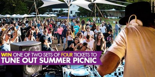 WIN 1 of 2 sets of tickets (4x tickets in each set) to Tune Out Summer Picnic series. Get down to deep house at this tranquil picnicking party set in the beautiful Franschhoek region .  To enter: tell us why you desperately want to go to Tune Out and tag the three people you would like to take with.  More info about the event:  http://www.capetownmagazine.com/tune-out  https://www.facebook.com/CapeTownMagazine