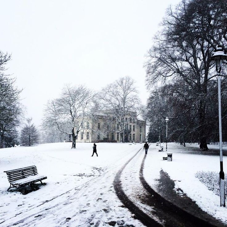 Sneeuw in Arnhem december 2014