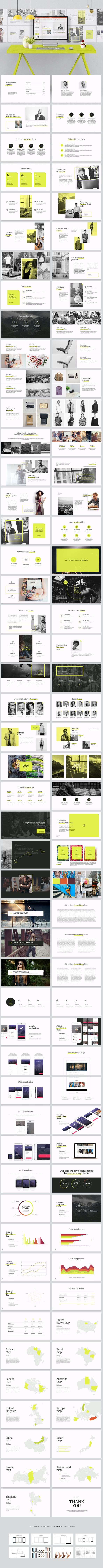 Best 25 photo collage template ideas on pinterest photo collage razor powerpoint template toneelgroepblik Choice Image