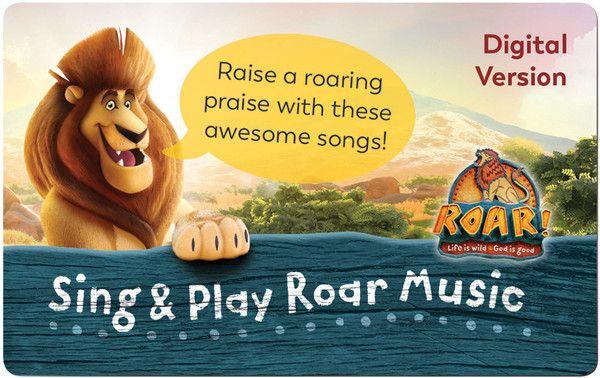 Sing & Play Music Download Card - Roar VBS by Group | ROAR